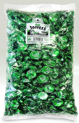 L22 WALKERS MINT TOFFEES 2.5KG POLY